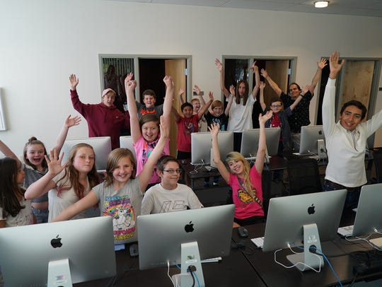 Children can learn about video production and creating