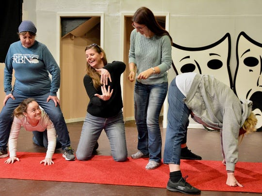 An improv class is a great way to meet new people.