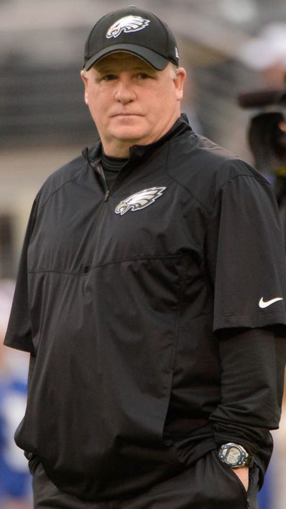 Chip Kelly explained the strategies behind some of his recent moves at a press conference Wednesday.