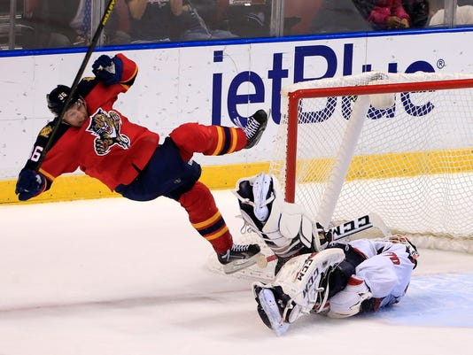 2e48c6a0859 Panthers outlast Capitals in longest NHL shootout