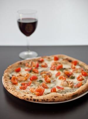 The Donna Rosa pizza at Pomo Pizzeria Napoletana.