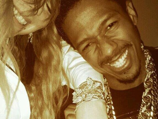 Mariah Carey and Nick Cannon (c) Twitter