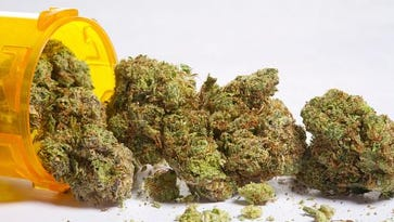 Getty ImagesThere is increasing interest in medical marijuana. Medical marijuana and pill bottle