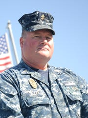 Chief Petty Officer Dean Cox is a master-at-arms aboard