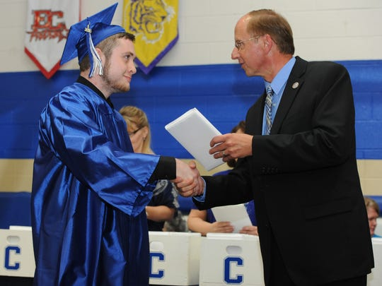 Chillicothe High School held their graduation Sunday
