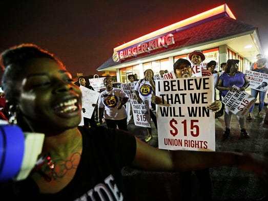 Fast Food Strikes Widen Into Social Justice Movement