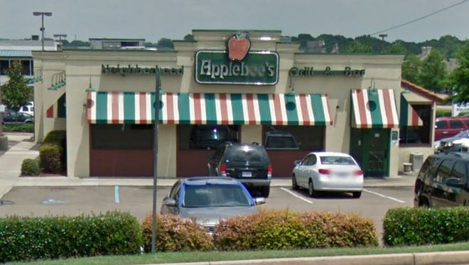 Applebee's restaurant located on East County Line Road in Ridgeland is closed.