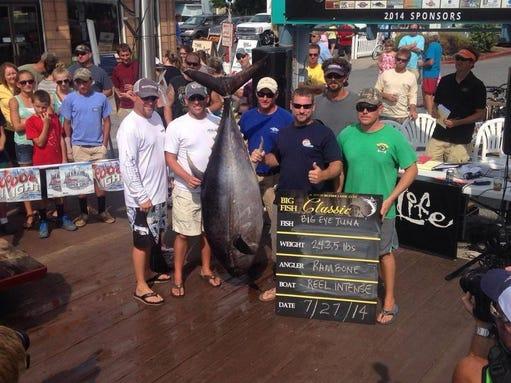 Huk big fish classic getting bigger in ocean city for Big fish classic