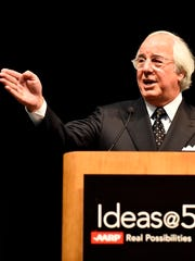 Frank Abagnale speaks to an AARP group about protecting your identity and money.