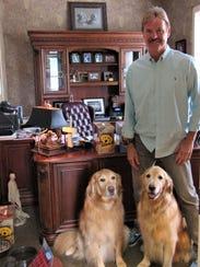 Veterinarian Dr. Randy Lange brings ambassadors JJ