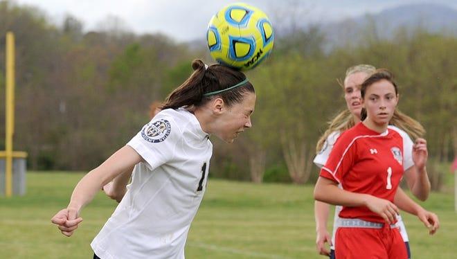 Asheville Christian Academy soccer player C.J. Graham.