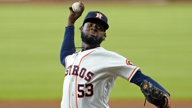 A bright spot for Houston on Wednesday night was the performance of pitcher Cristian Javier in his first start.