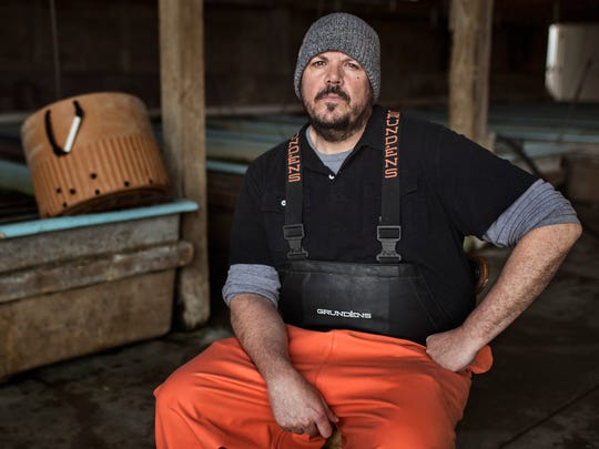 David Fields, owner and operator at the Lake City Fresh Fish Market in Grand Rivers, Kentucky.