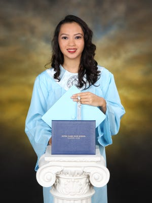 Efigenia Barcinas leaves the VIBE program and will study at the University of Guam.
