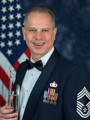 Chief Master Sgt. Kevin Burns of Airmen of Note.