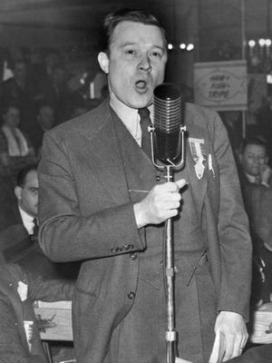 Longtime UAW President Walter Reuther, shown here in 1941, warned against allowing union officials to oversee funds earmarked for the benefit of members.