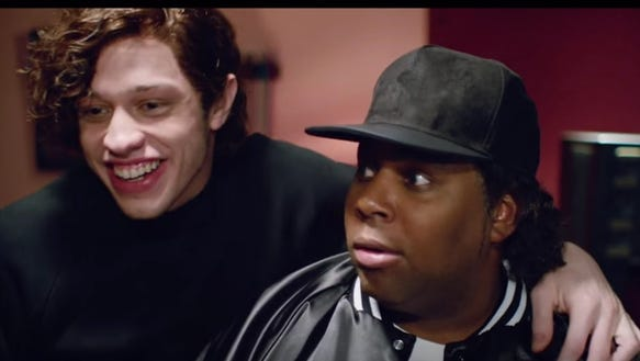 Kenan Thompson looks a lot like Ice Cube in the fake