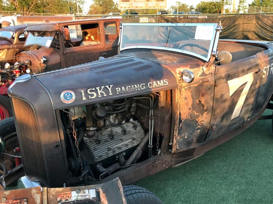 This 1932 Ford Roadster belongs to John Solada of Cottonwood, who rebuilt it after the car burned in a garage fire.