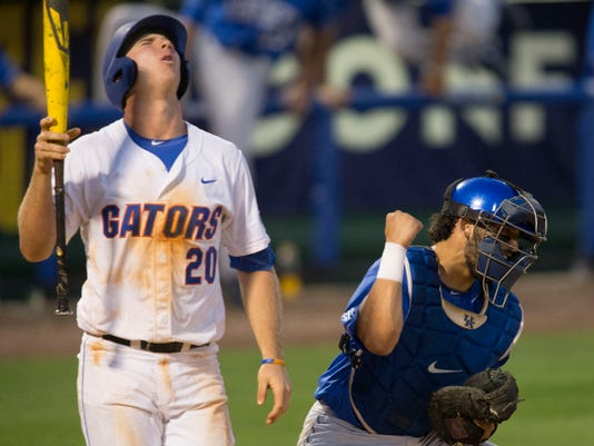 APTOPIX SEC Kentucky Florida Baseball