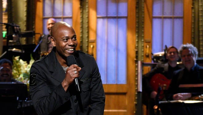 Host Dave Chappelle delivers his post-election monologue on 'SNL.'