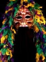 Mardi Gras mask from Jonathon Becker