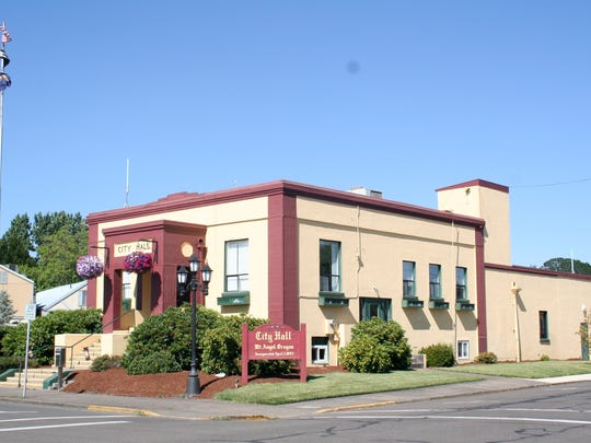 Current Mt. Angel City Hall.