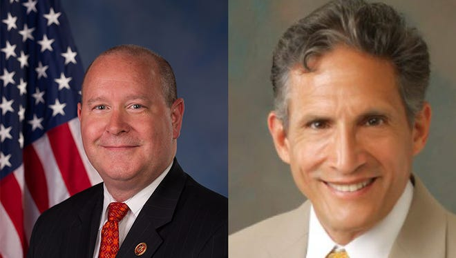 Left: Dr. Larry Bucshon Right: Dr. Richard Moss