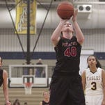 Pinckney's Jamie Katschor led the team with 14 points and eight rebounds in Tuesday night's win over Grand Blanc.