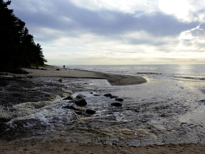 7 Wonders of Michigan: The Great Lakes (Lake Superior near the Au Sable Light Station pictured here)