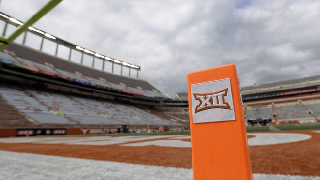 The Big 12 Conference will test fall athletes in high contact sports like football, soccer and volleyball three times a week this season.
