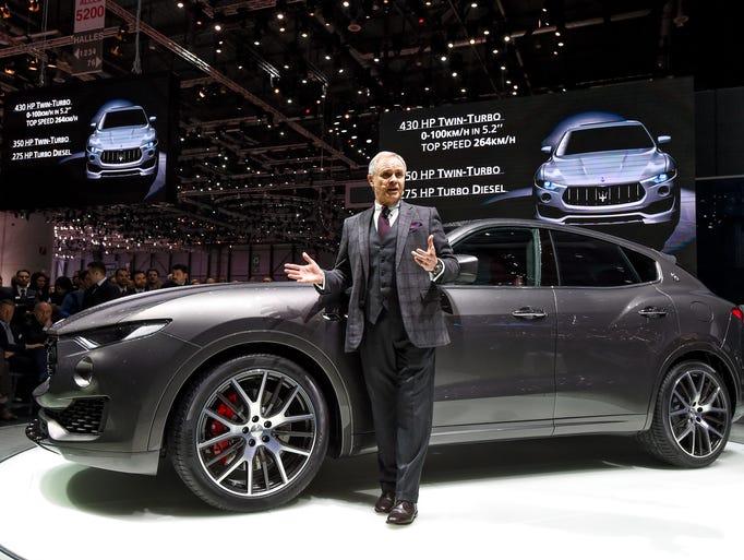Maserati has chosen the 86th Geneva International Motor