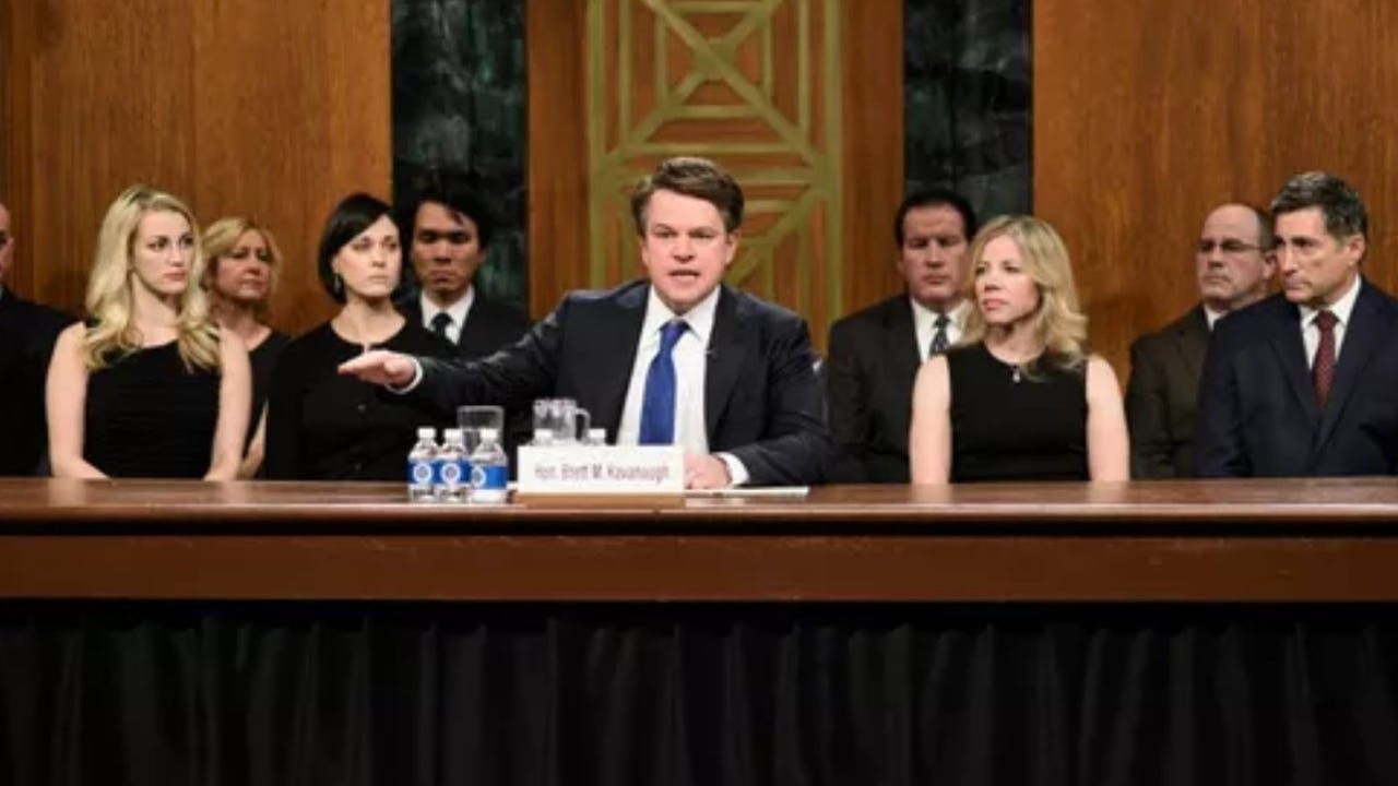b24ead363eec  Saturday Night Live  unloads on Brett Kavanaugh in season premiere