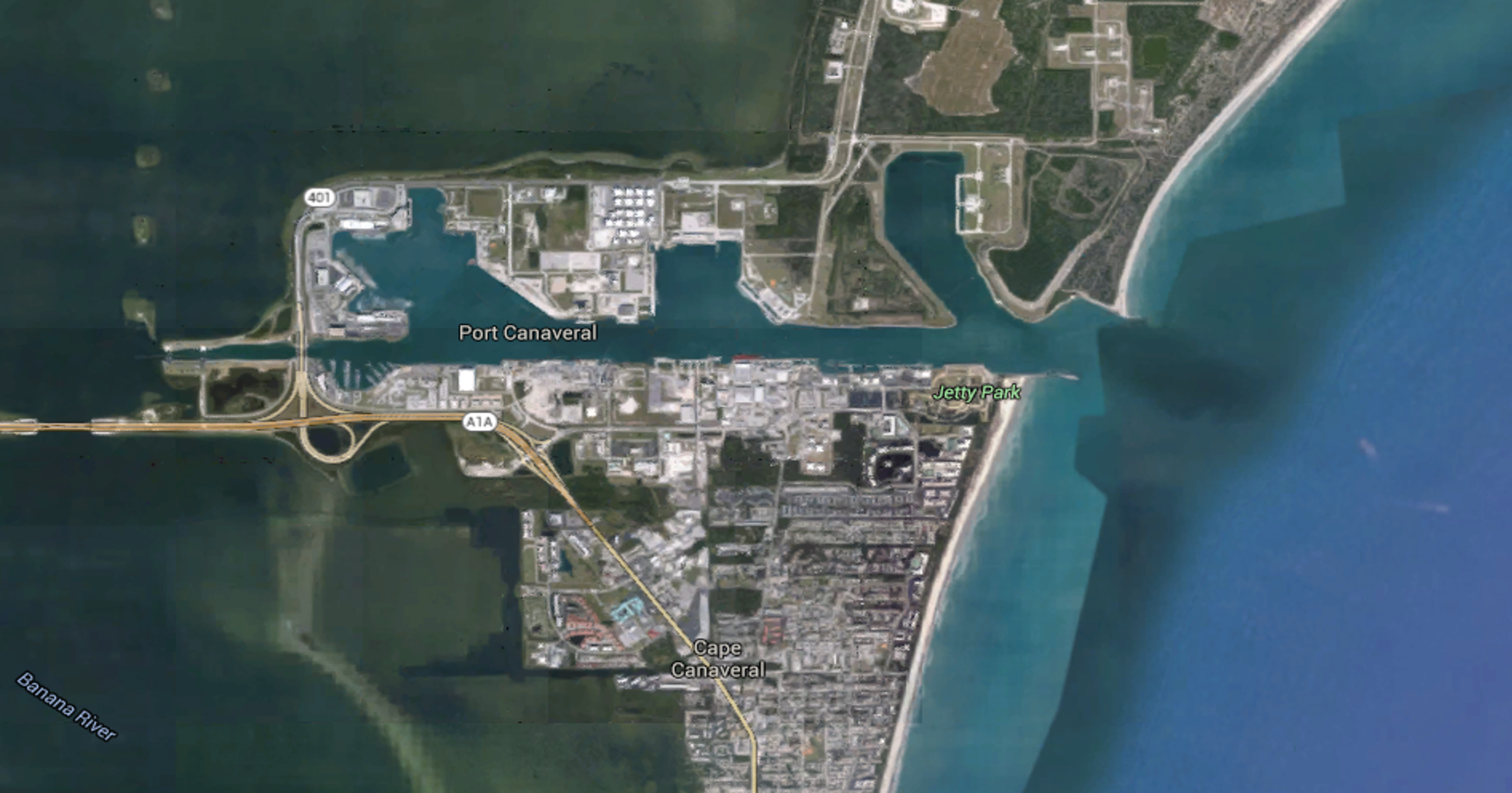 Boat capsizes off Port Canaveral, four rescued