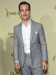 James Van Der Beek says he has been groped by Hollywood executives.