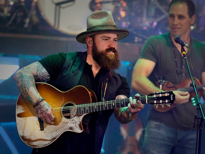 Zac Brown Band performs at Summerfest's American Family