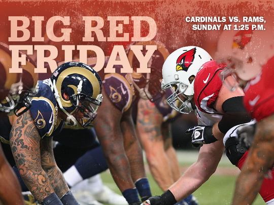 The Cardinals and the Rams face off on Oct. 2.