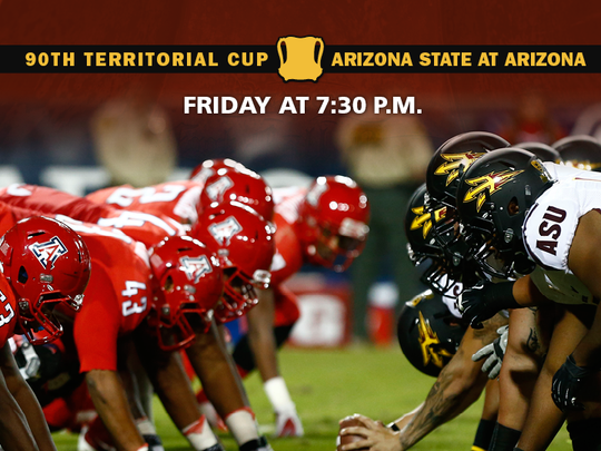 ASU and Arizona face of for the Territorial Cup on
