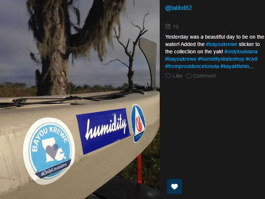 People can tag their shots of Louisiana life with #OnlyLouisiana
