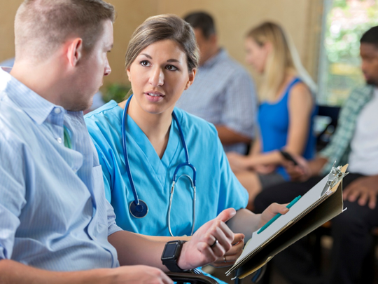 The informed consent process ensures that patients