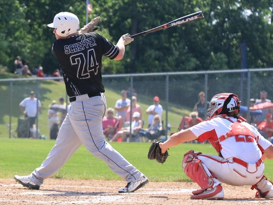 Pinch hitting in the seventh inning of Saturday's regional