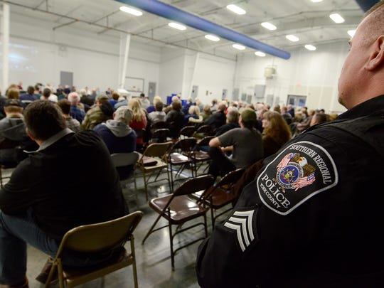 New Freedom Borough holds their first public meeting