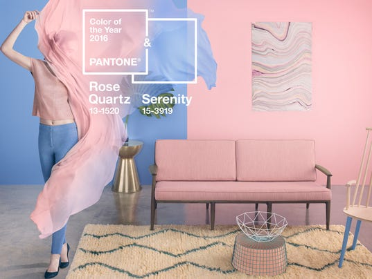 Pantone picks two 2016 Colors of the Year: Pale pink and baby blue ...