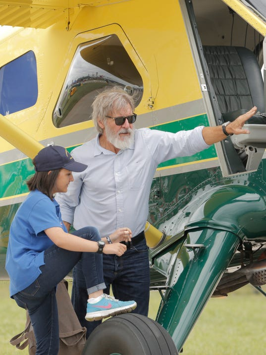 AirVenture 2016 Harrison Ford Ypoung Eagles