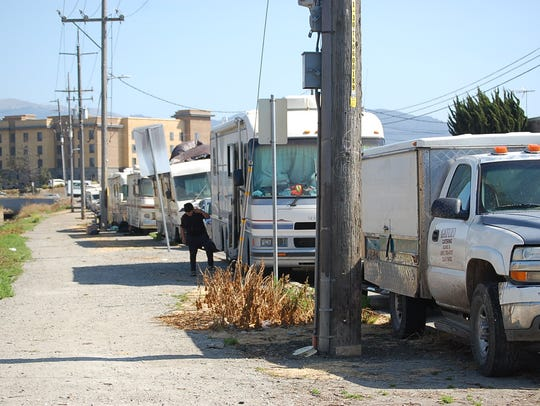 Salinas' oversized vehicle ordinance goes into effect Monday, leaving many living in RVs wondering where to go.