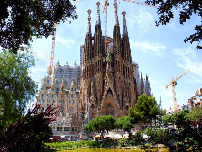 Barcelona's and Antoni Gaudi's most iconic                                                          architectural                                                          work,