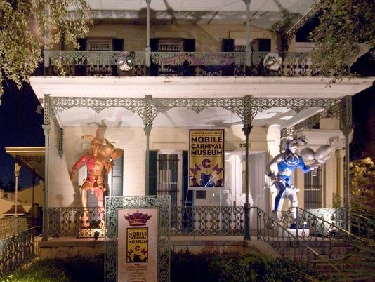 Carnival Museum - Mobile, Alabama