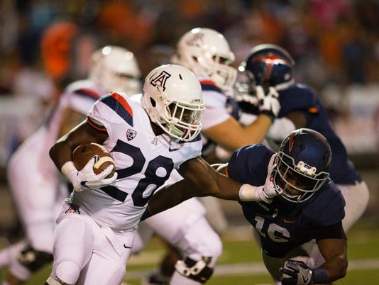 NCAA Football: Arizona at Texas El Paso