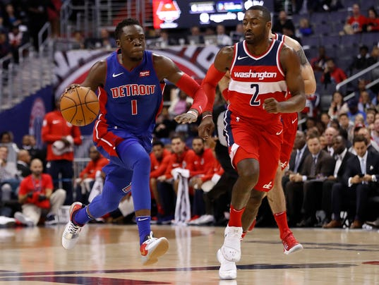 Detroit Pistons at Washington Wizards