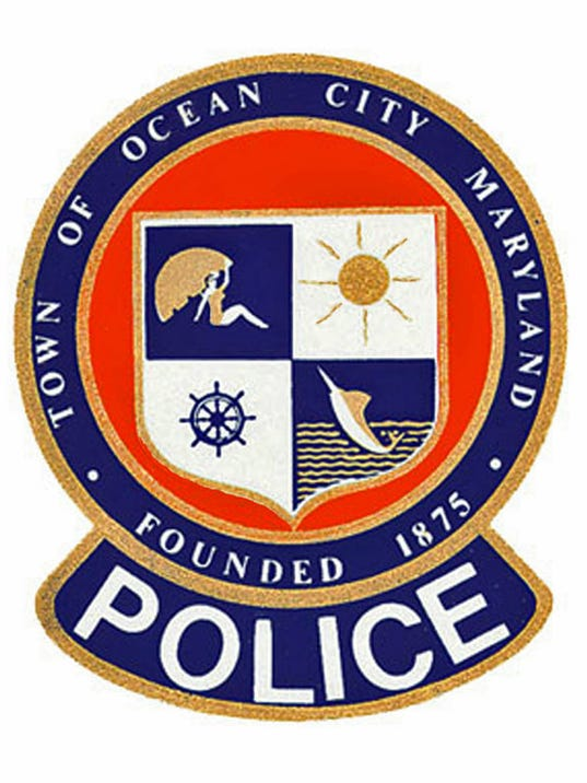 Ocean City Police Department OC Patch MDWEB