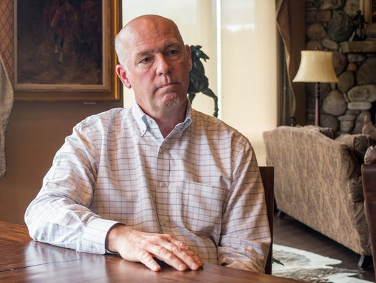 FILE--In this June 20, 2017, file photo, Montana Rep.-elect